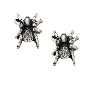 E169 - Black Widow Stud Earrings