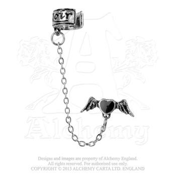 E212 - Coeur Noir Ear Cuff