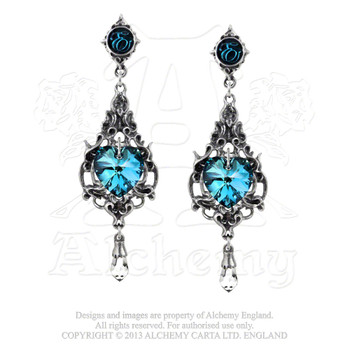 E264 - Empress Eugenie Earrings
