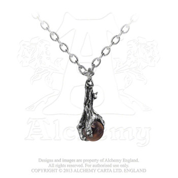 P13 - Dragons Claw Crystal Pendant