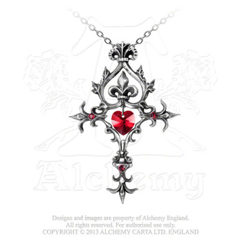 P456 - Renaissance Cross of Passion Pendant