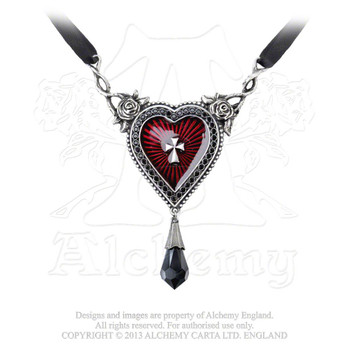 P466 - The Sacred Heart Necklace