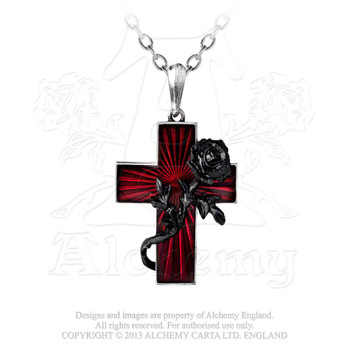 P502 - Order of the Black Rose Pendant