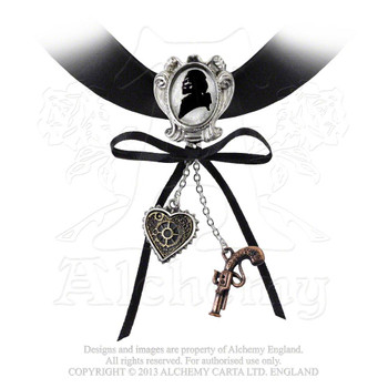 P641 - Memento For A Highwayman Choker