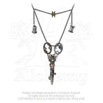 P669 - Pinkington's Precision Warp-Dissection Shears Necklace