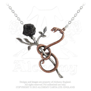 P689 - A Rose for Eve Necklace