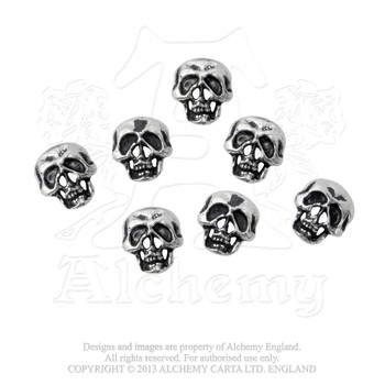 S1 - Skull Shirt Buttons