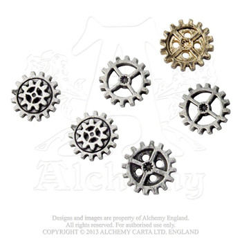 S11 - Gearwheel Buttons - Small