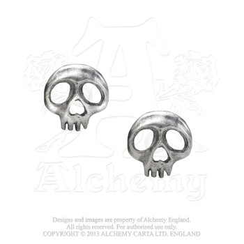 E343 - Skully Earrings