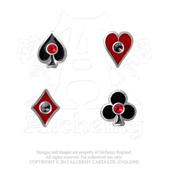ULFE21 - Aces Up Earrings