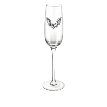 CWT54 - Wings of Love Champagne Glass