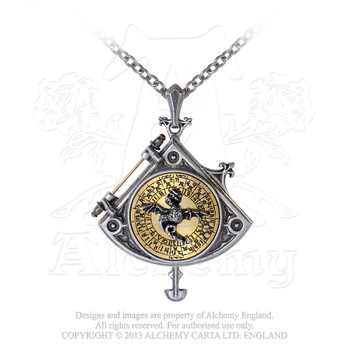 P670 - Enlightenment: Astral Dragon Quadrant Locket