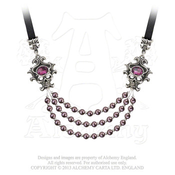 P704  - The Palatine Pearls of the Underworld Necklace