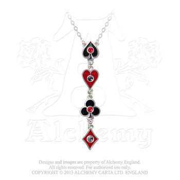 ULFP21 - Aces Up Necklace