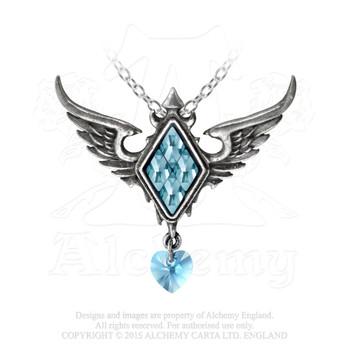 P703 - Frozen Heart Pendant