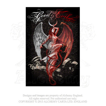 ASPC473 - Good & Evil 3D Postcard