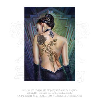 ASPC596 - Rose Des Folies 3D Postcard