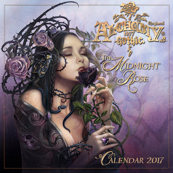 CAL17 - The Midnight Rose Calendar