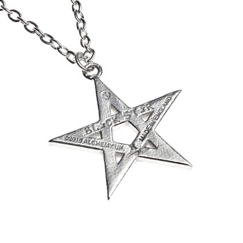 P775 - Black Star Pendant