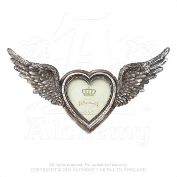 SA1 - Winged Heart Photo Frame