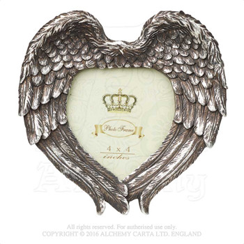 SA7 - Winged Heart Photo Frame