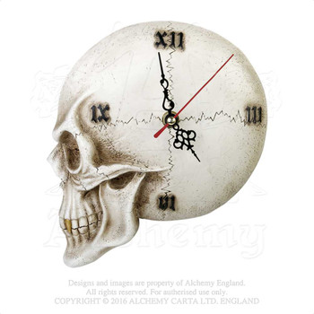 V32 - Skull Wall Clock