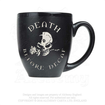 ALMUG4 - Death Before Decaf Mug