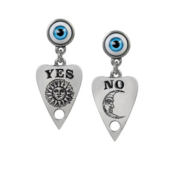 E396 - Ouija Planchette Earrings