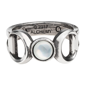 R219 - Triple Goddess Ring