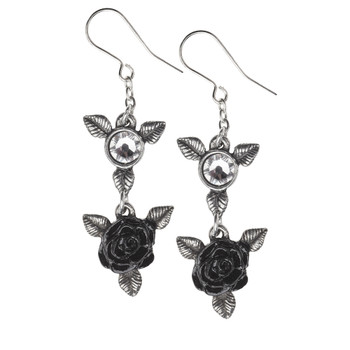 E398 - Ring 'O Roses Earrings