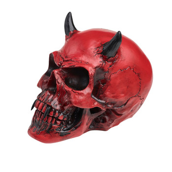 V43 - Crimson Demon Skull