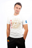 JUDO OLYMPIC SPORT 2012 Mens T-shirt 1/2 White