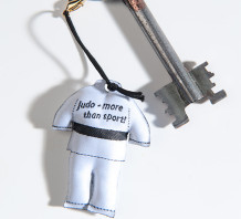 JUDO-GI White  Key Chain