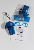 JUDO-GI BLUE  Key Chain