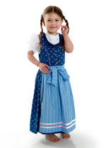 Girls Dirndl 'Charlotte' Blue