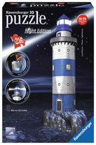 Ravensburger Light House Night Edition 3d Puzzle 216pc