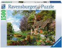 Puzzle Ravensburger Country Cottage 1500pc