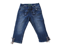 Denim Bundhosen Capri Shorts For Women