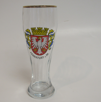 Frankfurt 0.5 Liter Wheat Beer Glass