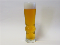Soccer Wheat Beer Glass Full