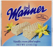 Manner Vanilla Cream Wafers