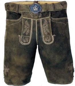 Lederhosen 'Veith' With S&W Belt