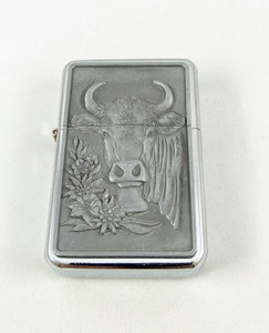 Cow with Alpine Flowers Lighter
