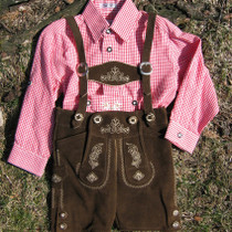 Boys Lederhosen Michael Bavarian Specialties LLC German Clothing Frankenmuth Michigan