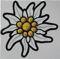 Large Edelweiss Sticker