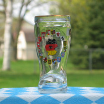 German Shot Glass boot 4cl