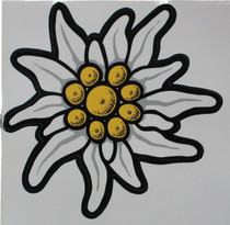 X-Large Edelweiss Sticker