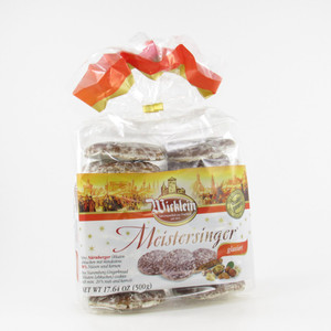 Nuernberg Christmas Lebkuchen Meistersinger all iced Cookies (sugar glace coded)