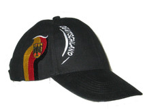 Deutschland Baseball Cap Black