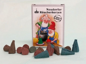 Cone Incense Bunte Mischung (Variety mix) mini